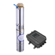 solar power water supply 75hp submersible pump 2hp dc solar pump system