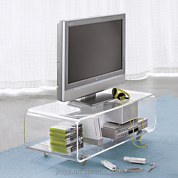 Professional Acrylic Furniture Design Pmma Plexiglass Tv Table Stands Acrylic  Tv Stands