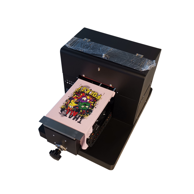 Supercolor A4 Eco solvent Flatbed Digitale Inkjet Printer Met ABS Ongecoat Eco solvent Inkt