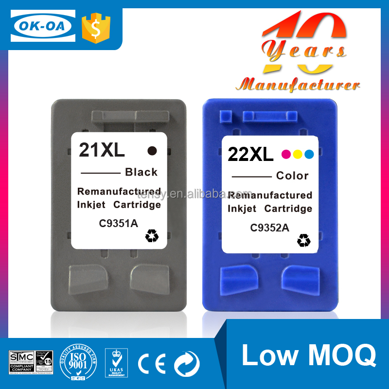 Hot high quality compatible ink cartridge for HP 22 C9352AE