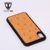 Fashion Genuine Ostrich Leather Mobile Phone Case For Iphone X With Custom Logo
