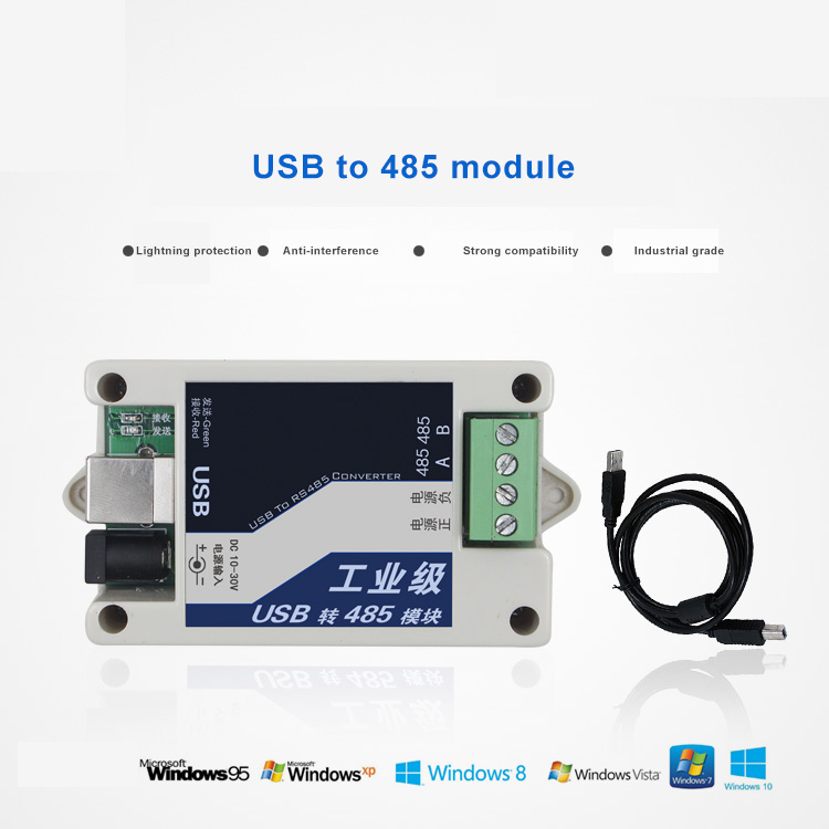 Industrial grade usb rs485 converter usb to rs485 converter adapter