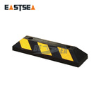 Car Stop Wholesale High Quality Reflective Car Drop Rubber Wheel Stop