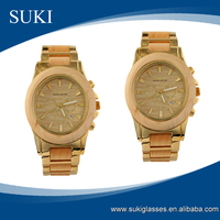 Eco-friendly handmade bamboo/zebra wood wrist watches with customized logo