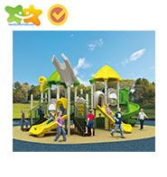 Crianças de escalada quadro net Micro terreno parque infantil ao ar livre equipamentos de playground slide