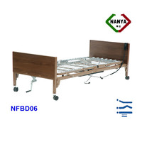 Wooden Head Board Electric tilting bed
