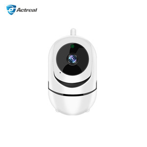 APP PTZ Two Way Audio Night Vision IP Security Cameras With Auto Rotate Tracking HD 720P 1080P