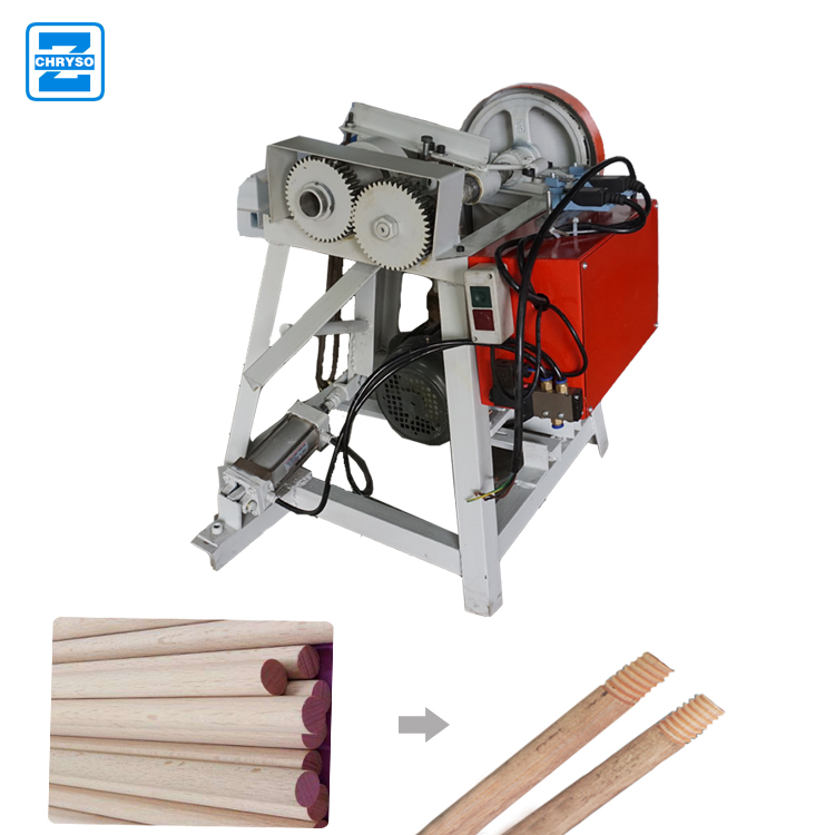 Brooms making machines wooden broom handle machine Rod Wood Broom Stick Machine