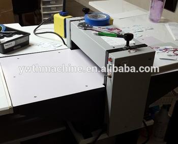 Bureau cylindre machine de presse À découper nom carte de découpe