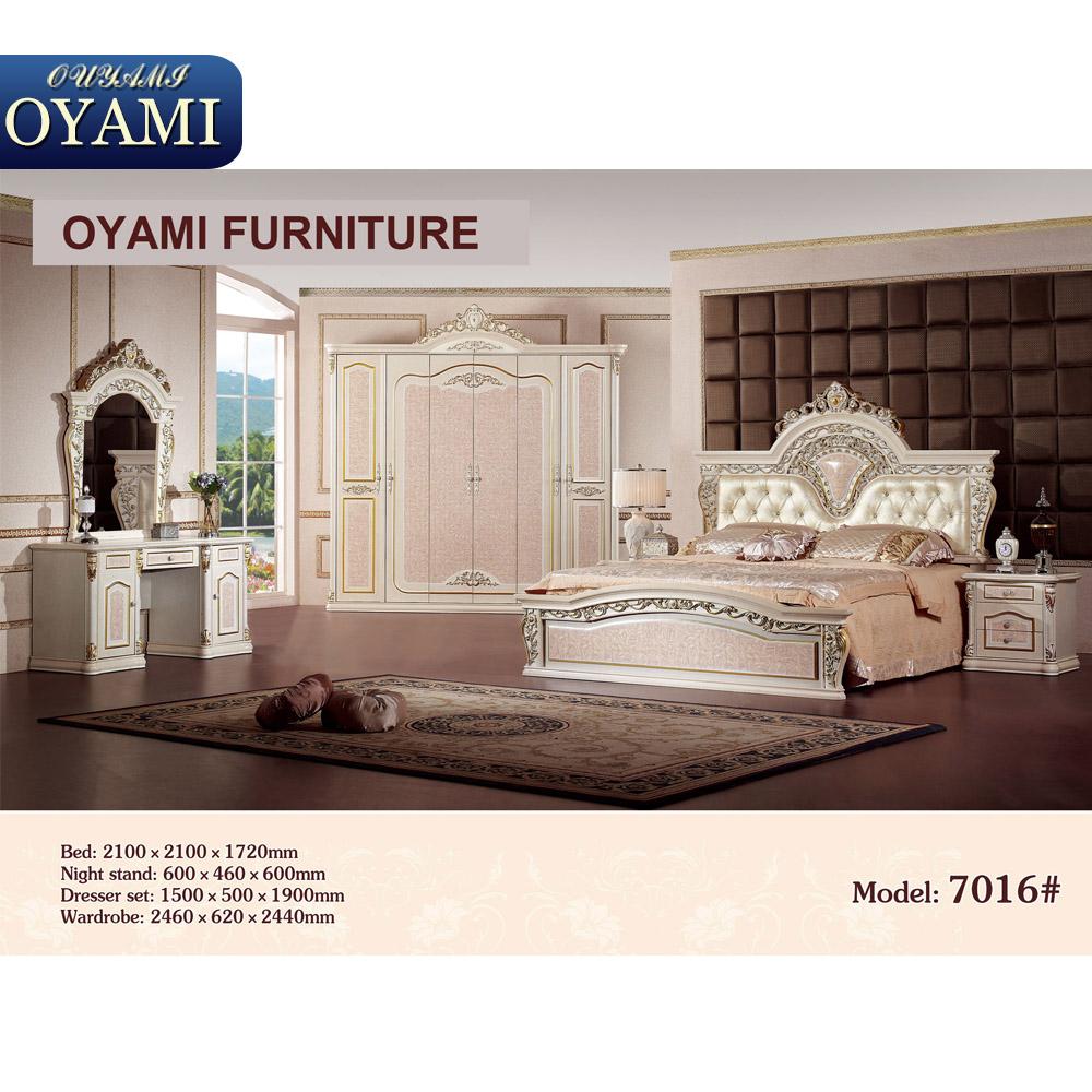 Diseños de madera de pino princesa muebles antiguos cama corona ...