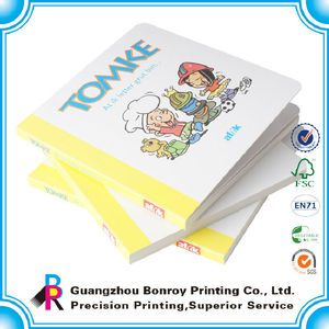 China printing children board book for children and baby