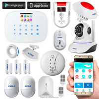 Kerui G19 hot smart wireless fire panic simple safe home security alarm system