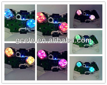 7 Lightings Led Lighted Thumbsticks For Xbox 360 Controller ...