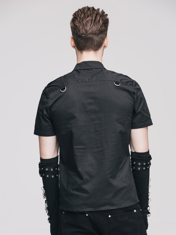 Restlessnwild Mens Punk Shirt Sjm129 Buy Punk Shirtmen Shirt