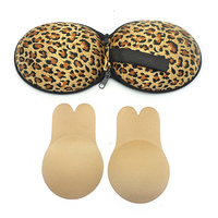 2 pairs women adhesive backless strapless push up bra pasties pads nipplecovers invisible silicone breast lift nipple covers