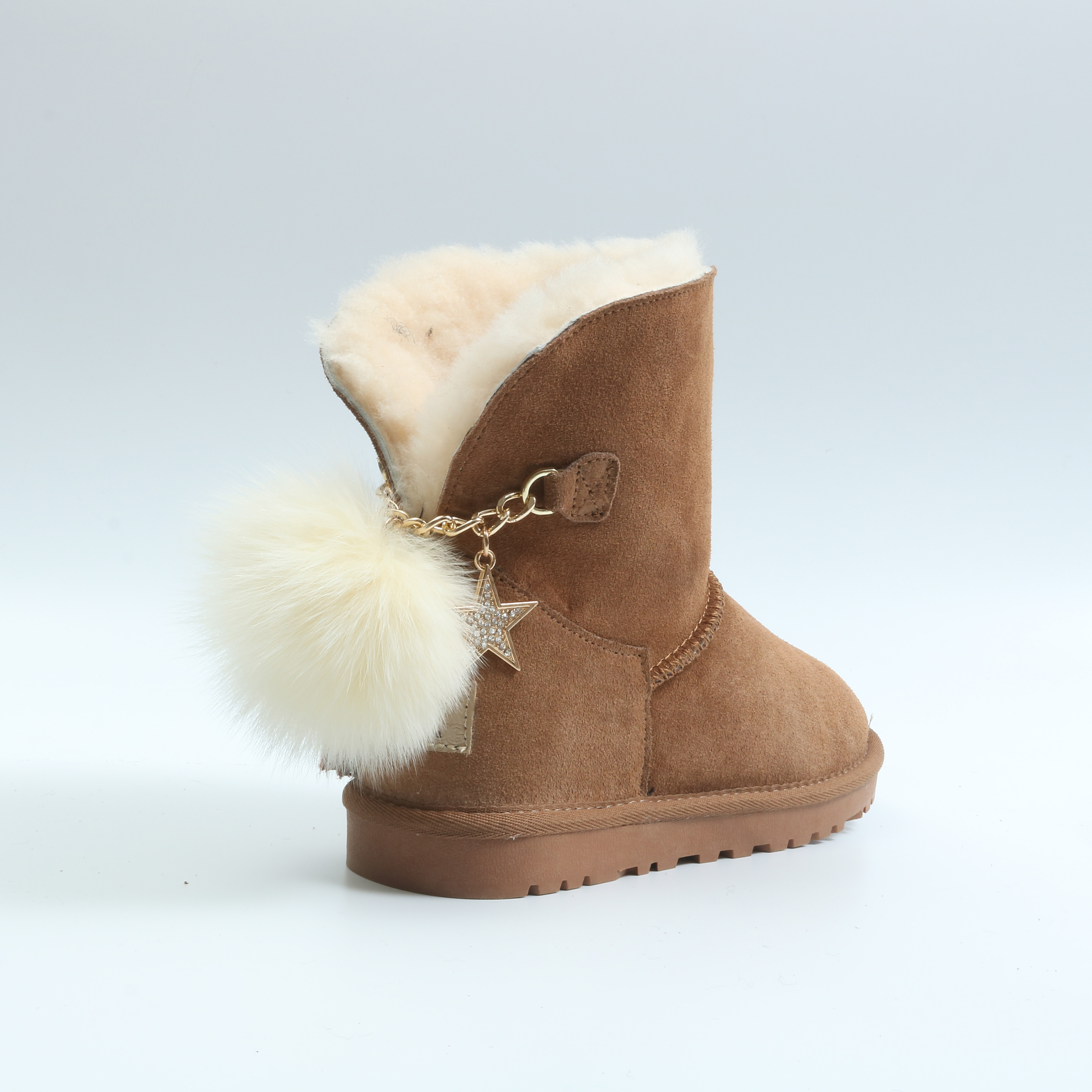 04694696f 2018 Fashion Ladies Winter Boots New Sheep Wool And Leather Half Boot Snow  Boots For Ladies In Winter - Buy Sheep Wool And Leather,2018 Fashion Ladies  ...
