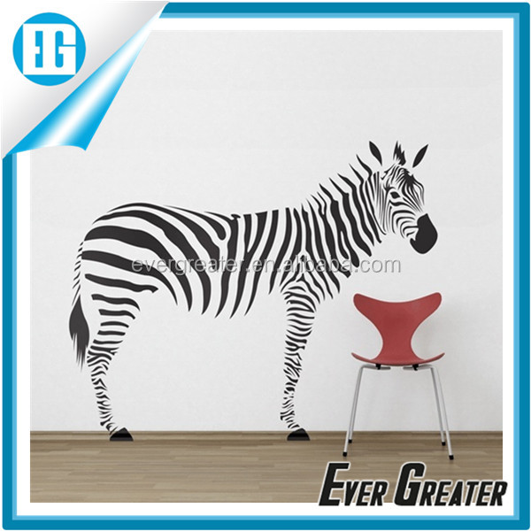 Customized Top value animal pvc wall sticker pony sticker home decoration