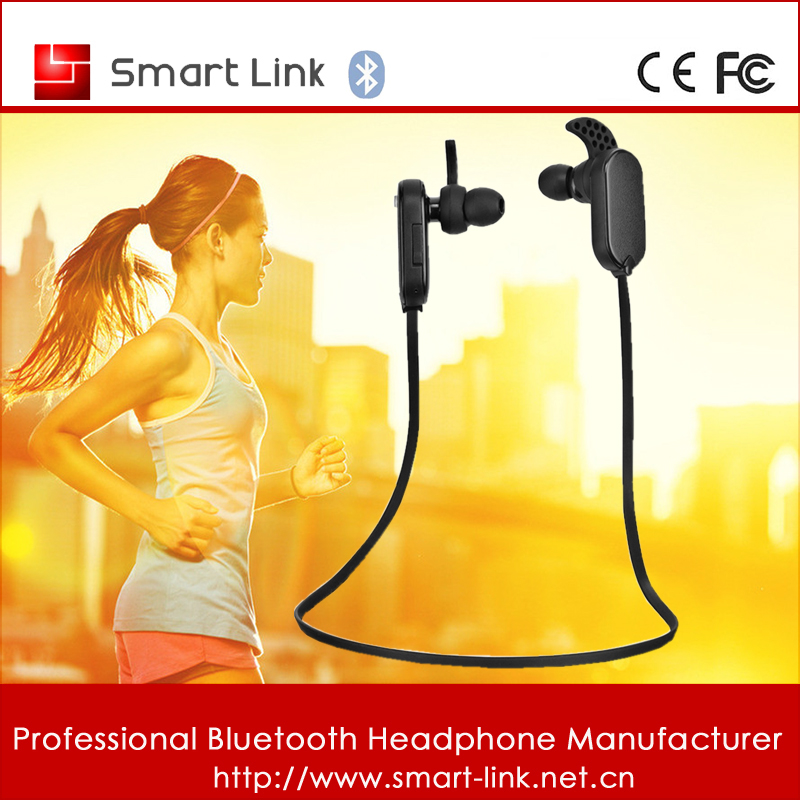 Bluetooth Headset Stereo Wireless Headphones Sweat proof Sports Running Hands Free In Ear Earbud Earphones