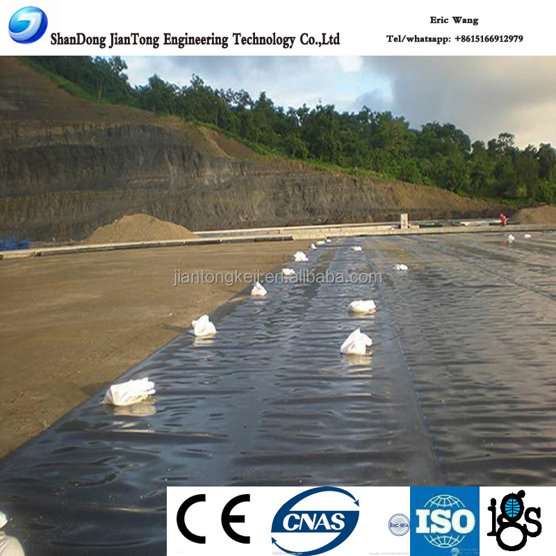 Ponds/ Lake/ Landfill Waterproofing Geomembrane 1 mm/ HDPE geomembrane