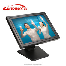 4 / 5 wires resistive 17 inch touch screen monitor