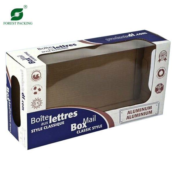 REUSABLE CORRUGATED PACKAGE BOX WITH WINDOW(FP600421)