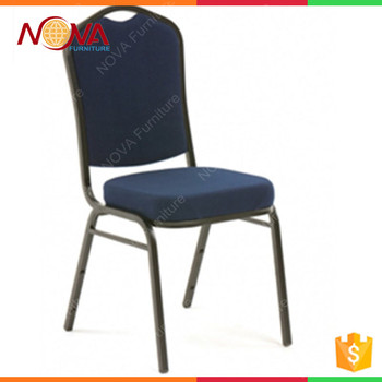 Wedding Furniturecomfortable Sponge Metal Stackable Cheap Used Event Chairs  For Sale
