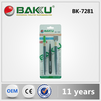 BAKU High quality anti-static tools set for cell phone tools electric set BK 7281