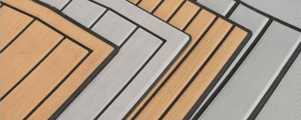 Eva Foam Decking Marine Decking Floor Dual Color Marine