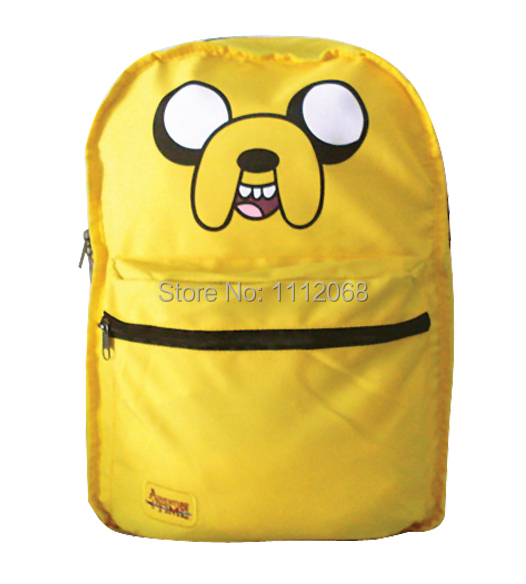 d3ebf5dfae Get Quotations · Adventure Time! adventure time backpack finn and jake  two-sided satchel schoolbag backpack mochilas