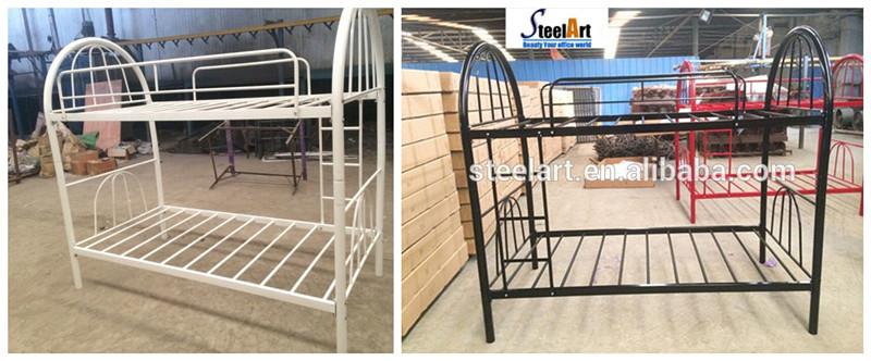 Dormitorio Metal Decker Doble Litera Cama Con Colchón Simple O Doble ...