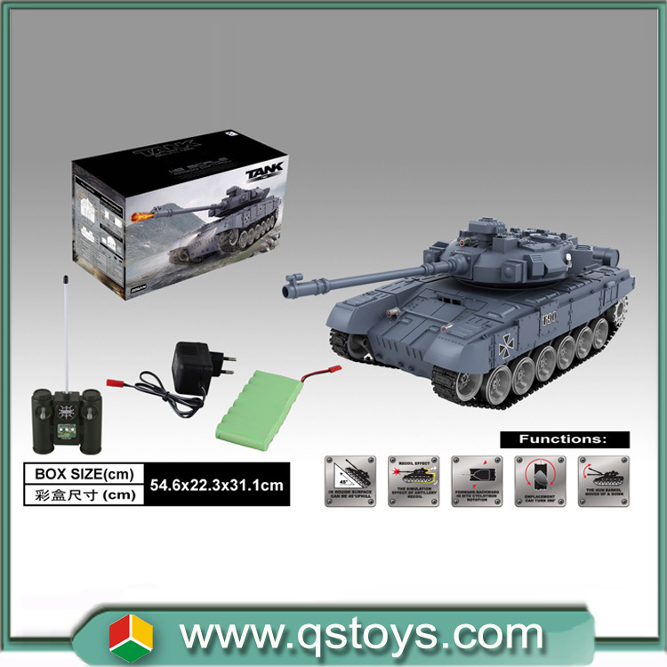 New Model!hot Sale Emulational Rc Tank Shooting Battle Tank