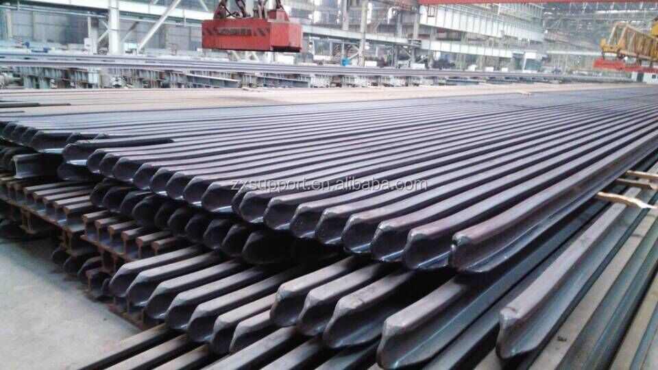 newest 80kg/m crane steel rail, BS 90A steel railway