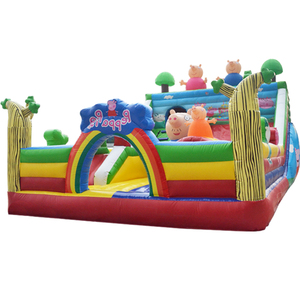Wholesale indoor outdoor bouncer inflatable playground/inflatable children playground/inflatable playground slide