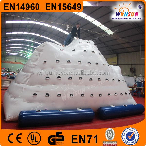 hot sale factory outlet inflatable iceberg,inflatable iceberg water toy