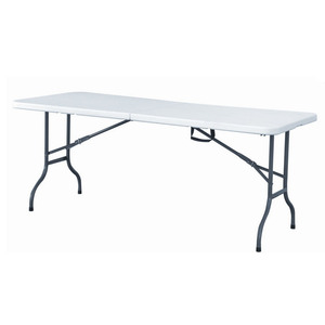 6 Feet Banquet BBQ Camping Plastic Center Folding Table