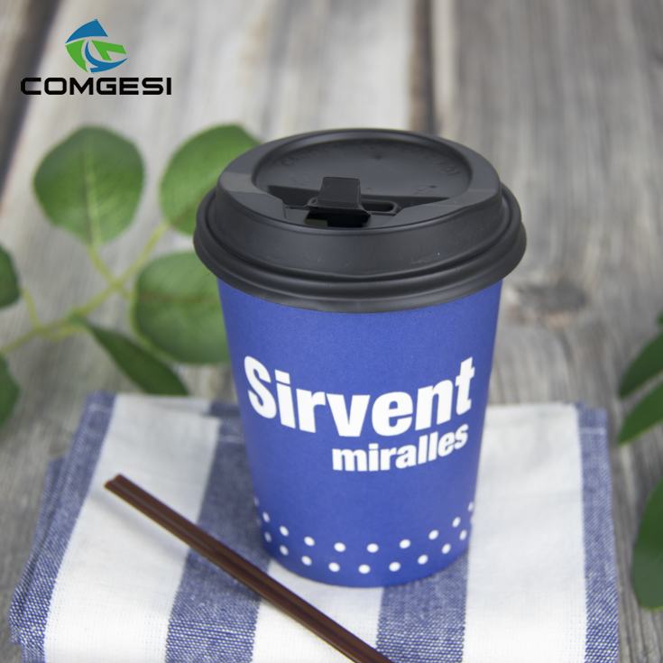 Chinese reliable manufacturer Comgesi high quality customized different size hot cold drinking 12oz beverage cup