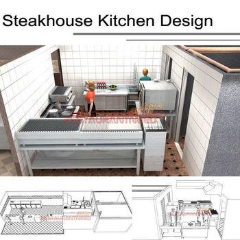 Shinelong Customized Project Steakhouse Kitchen Design Though Shinelong Buy Steakhouse Kitchen