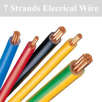 Electric Wire Pure Copper 0.5mm 1mm 1.5mm To 25mm Coil Single ...