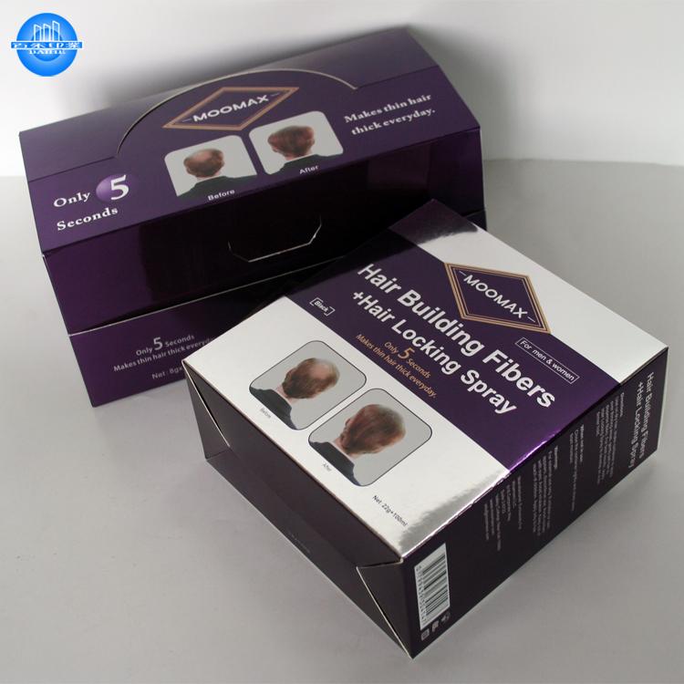 Изготовленная на заказ новая складная элегантная подарочная коробка наращивание волос упаковка коробка