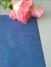 gechuang dyed pure blue /sky blue nonwoven wrapping paper for wrapping flower 50cm*50cm