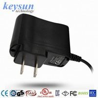 KS 6W AC/DC power adapter for e-cigarette with UL compliant