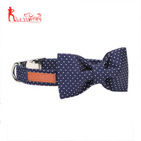 Dog And Cat Collar With Bowtie ,Soft And Comfortable ,Adjustable Collar