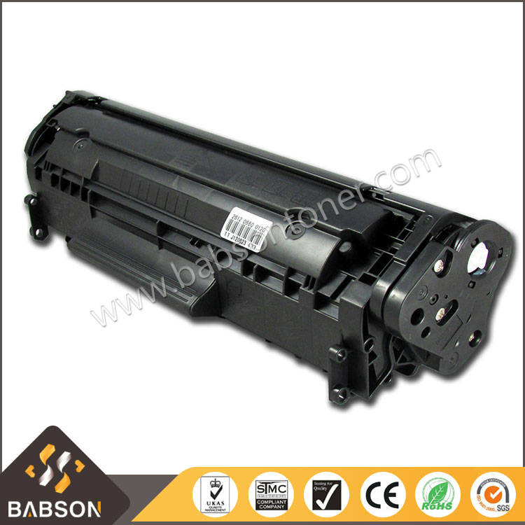 Stable Quality Compatible Black Toner Cartridge Q2612 12A for HP Printer