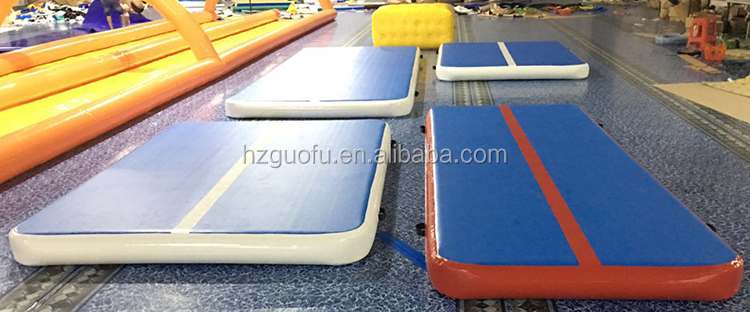 Used Inflatable Air Gymnastic Track Crash Mat Mattress with Factory Price for Sports