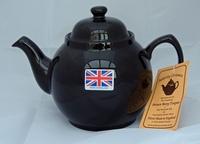 Brown Betty Teapot - 8 Cup size - U.K. Made by Cauldon Ceramics