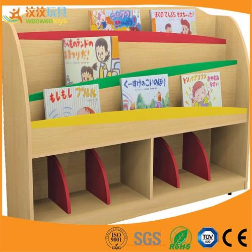 cartoon stil holz kinder b cherregal kindergarten. Black Bedroom Furniture Sets. Home Design Ideas