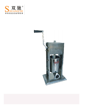 2019 China supplier commercial Vertical manual sausage filler with  stainless steel sausage making machine for wholesale, View used sausage  filler,