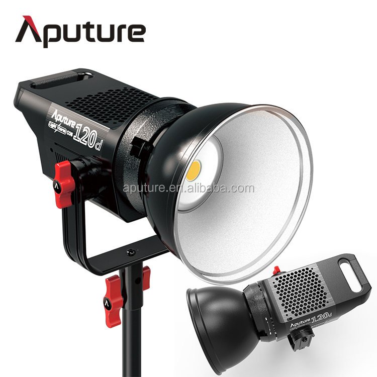 Aputure LS C120d daylight version studio light setups, light bulbs for photography studio