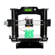 Printer 3D size 200*200*170mm High Quality Precision Reprap Prusa i3 DIY 3d Printer kit with 1 Roll Filament