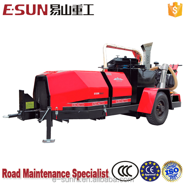 ESUN CLYG-TS500II 500L External pump bitumen melting machine